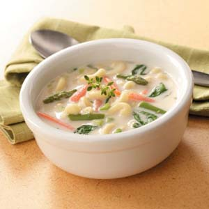 Don't like cold soup? Try this Creamy Spring Soup instead.