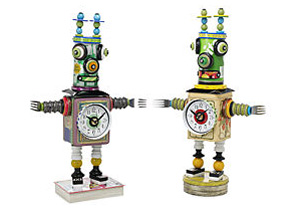 Robot Clocks