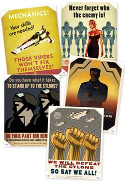 BSG Propaganda Posters