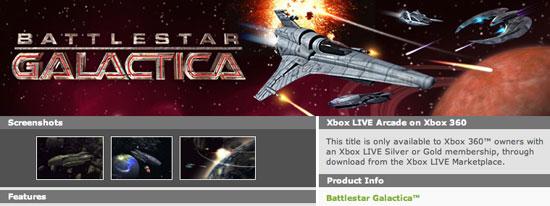 Battlestar Galactica Arcade Game