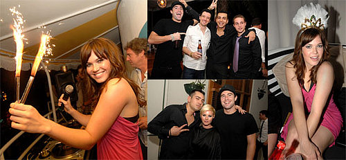 Mandy Moore New Year's Eve in Miami