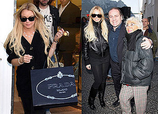 Lindsay Lohan's Career Honored in Capri