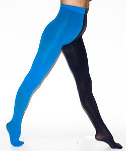 Opaque Two Color Pantyhose - Nylons - American Apparel Online Store
