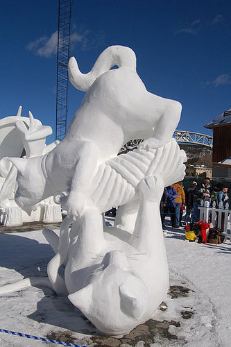 Out and About: Colorado's Snow Sculpture Championships