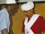 Obama in Kenyan Dress