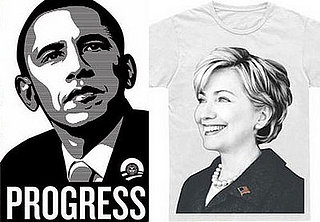 HIllary and Obama Tees on eBay