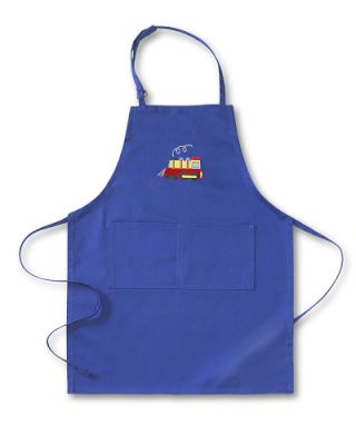 Personalized Kids' Train Apron