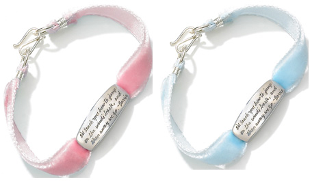 Lil Find: Words of Wisdom Baby Bracelets