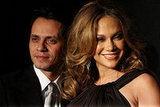 Jennifer Lopez and Marc Anthony in New York