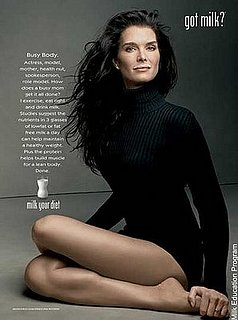 Brooke Shields New Spokesperson for Got Milk