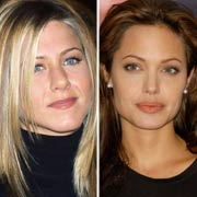 Angelina Jolie or Jennifer Aniston?