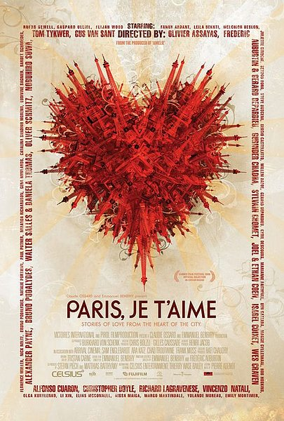 Paris, Je T'aime Poster - Internet Movie Poster Awards Gallery