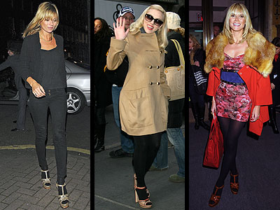 SANDALS OVER TIGHTS -- Love It Or Leave It??