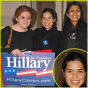 America Votes For Hillary Clinton