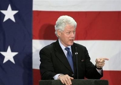 Bill Clinton to fellow Dems: 'Relax'