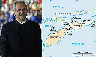 Headline: President of East Timor Shot