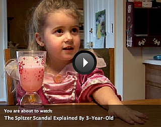 The Spitzer Scandal Explained by a 3-Year-Old Princess