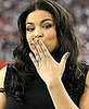 Jordin Sparks's Nail Polish at the Super Bowl XLII