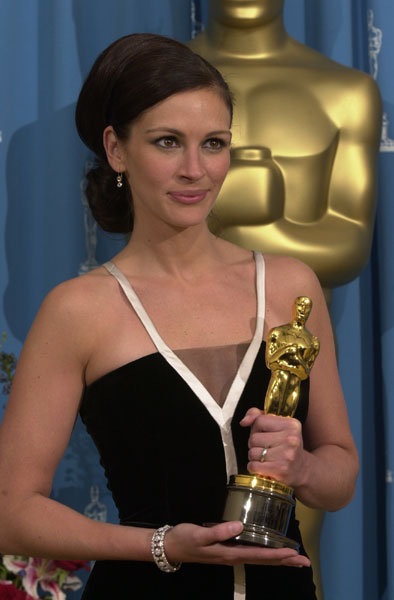 Oscars Beauty: Julia Roberts