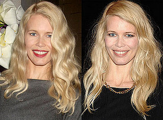 Which Lipstick Do You Like Better on Claudia Schiffer?
