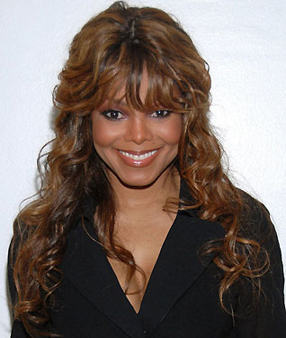 Janet Jackson's Top-Heavy Bangs