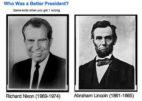 Play Our Presidential Faceoff!