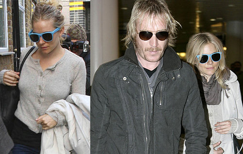 Sienna Miller and Rhys Ifans Return To The UK