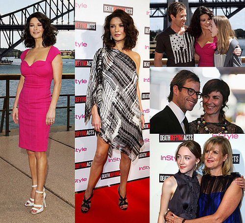 Catherine Zeta-Jones, Saoirse Ronan and Guy Pearce at Death Defying Acts Premiere in Sydney