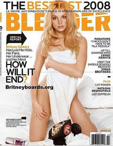 Britney Article In Blender Magazine