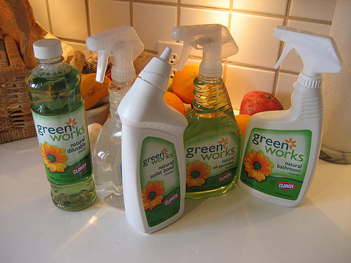Casa Beta:  Clorox's Green Works Line