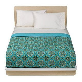 Steal of the Day: Turquoise Medallion Quilt