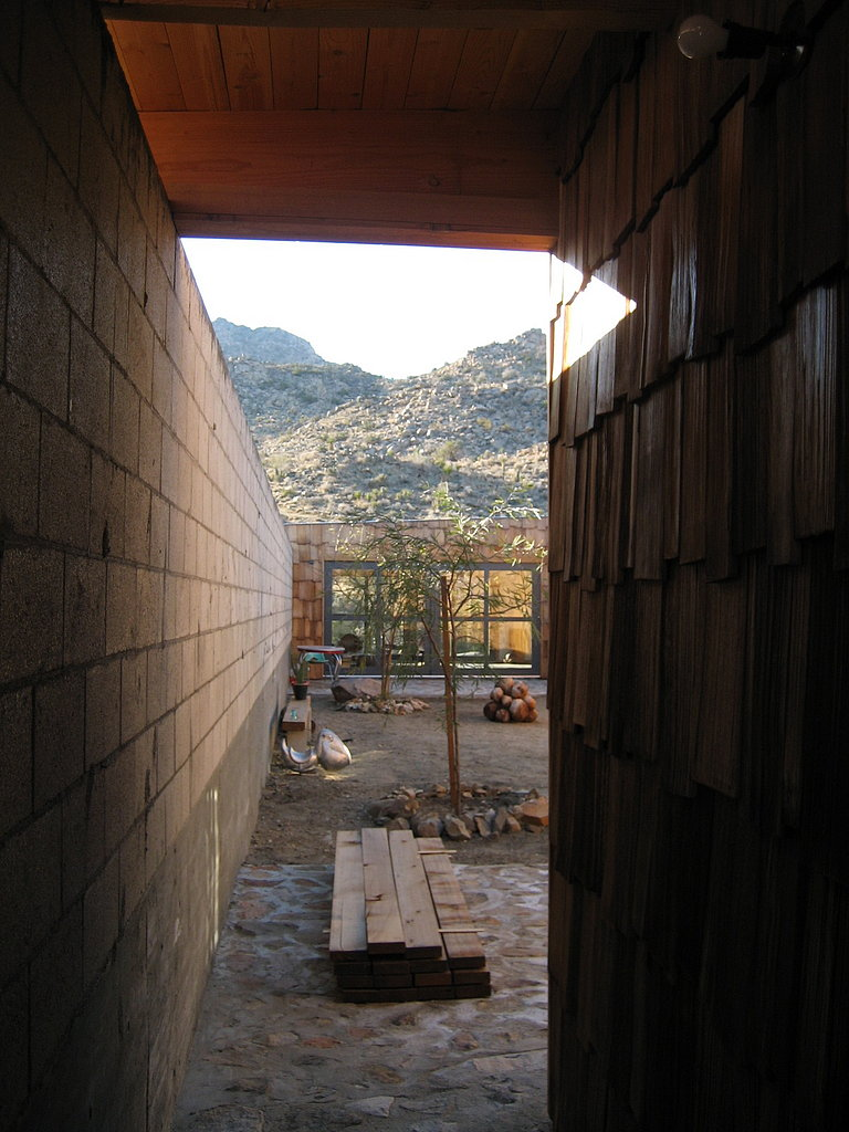 View Into the Courtyard