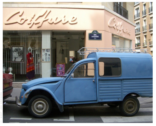 Blue Truck, Paris