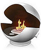Love  It or Hate It? Globe-Shaped Fireplace