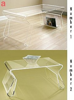 Less or More: Acrylic Tables