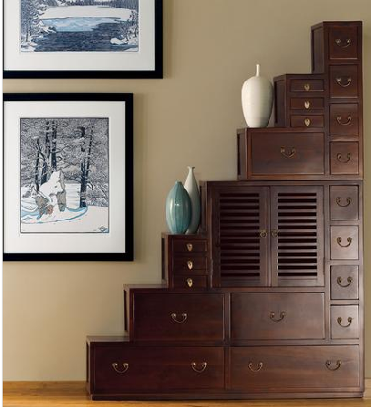 Crave Worthy:  Tansu Shelves