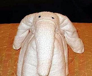 How To: Fold a Towel Like an Elephant