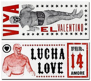 The Card Shop: Wrestler Valentines