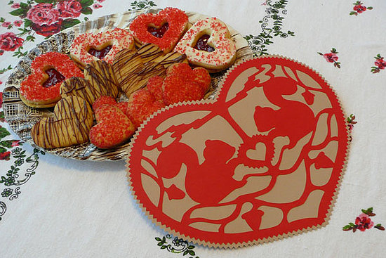 DIY: Squirrel Papercut Valentine