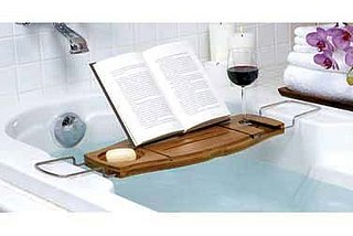 Nice and New: Bamboo Bathtub Caddy