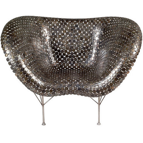 Weird Furniture:  Vivre's Coin Chair