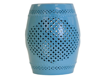 Crave Worthy:  Jayson Home and Garden's China Blue Stool