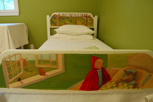 Another look at the bed frame