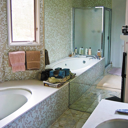 Before and After:  Bathroom Beautiful