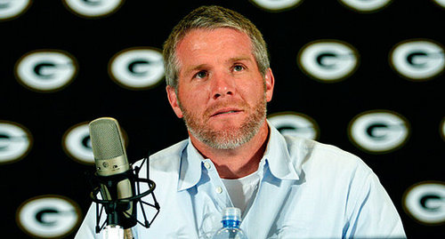 Favre rules out return to NFL at retirement press conference