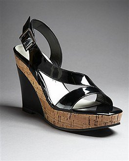 White House | Black Market - Blanche Cork Wedge