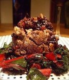 Roasted Lamb with Swiss Chard
