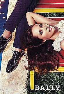 Christy Turlington Stars in Bally's Spring '09 Ads