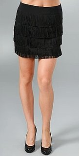 The Look For Less: Nanette Lepore Carwash Fringe Mini Skirt