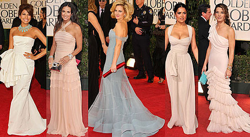 Which Dior Golden Globe Gown Is Most Fab?